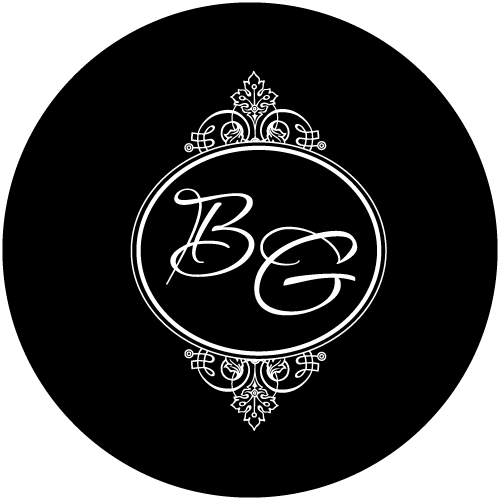 G2907 Passions Initials B&W Glass Gobo